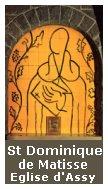 Eglise d'Assy, St Dominique de Matisse
