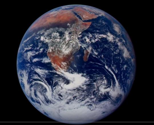 Vidéo Planète émouvante